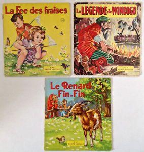 Antiquité 1944. Collection. Contes pour enfants de Tante Lucille
