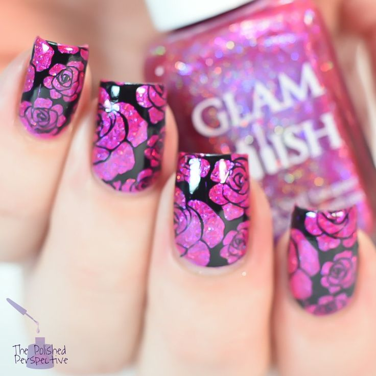 Best 371 Nail Stamping ideas on Pinterest | Belle nails, Beauty ...