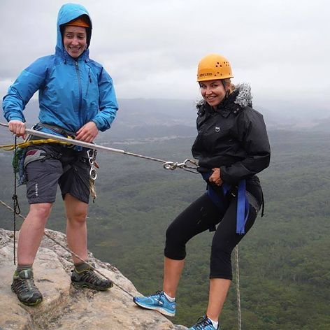 Our Abseiling and Rock Climb day in the Blue Mountains will include an abseiling lesson in the morning at Katoomba with views to the famous Three Sisters. Followed by climbing in the afternoon.