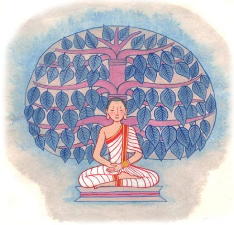 illust for Children's picture book #illust #buddha #picture book
