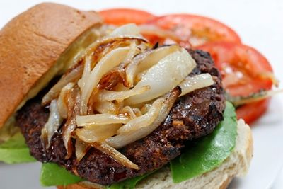 A fantastic, yet simple burger recipe that makes a patty so delicious, you need little else on the burger to make it great!