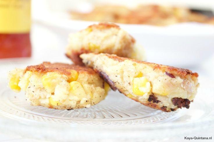 aardappel-tonijnkoekjes recept