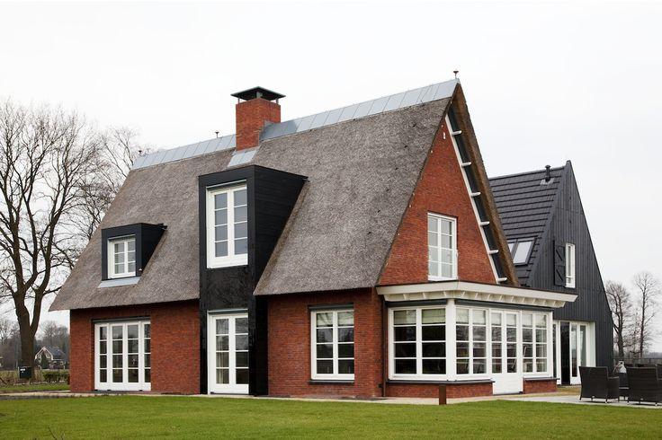 1000 images about huizen on pinterest ramen met and verandas - Moderne buitenkant indeling ...