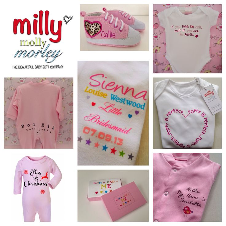 Www.millymollymorley.co.uk Unique personalised baby gifts