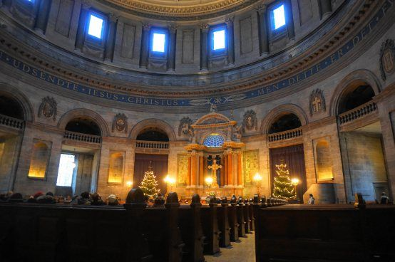 Copenhagen - Frederiks Kirke interior