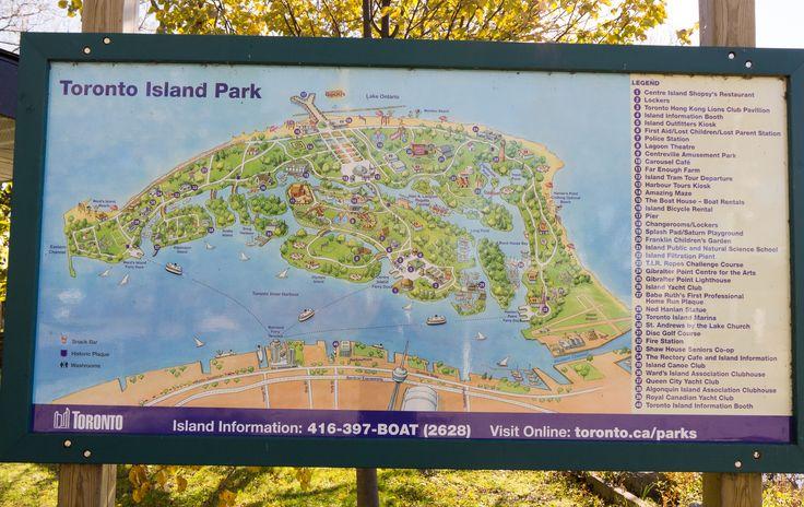 #Toronto #Island #Map #Lake #Ontario