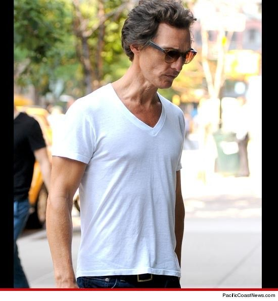 Yikes! Matthew McConaughey -- Wasting Away ... For New Movie Role