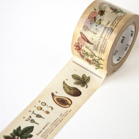 MT ex wide Plant Washi Tape by mt masking tape | Fox and Star UK