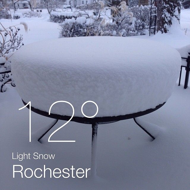 Rochester and Snow go together!
