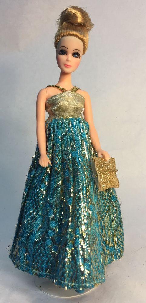 Vintage Topper Dawn Doll Modeling Denise/H11C In Dizzy Girl New You