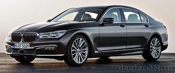 Седан BMW 7-серии 2016 / БМВ 7-серии 2016 для Китая