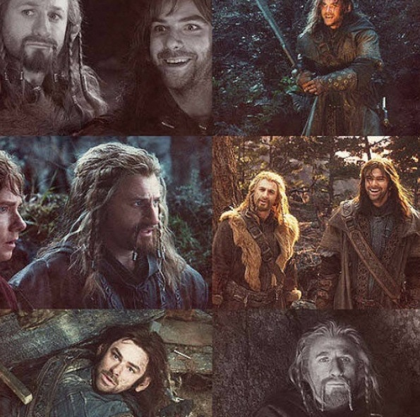 Kili and Fili - I know the ending to the last movie and it makes me cry :'(