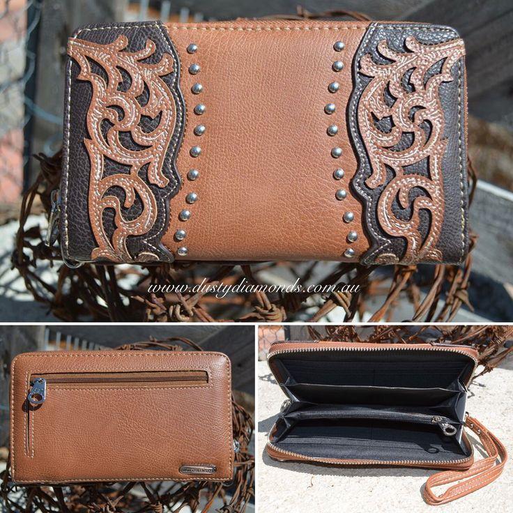 Montana West Zippered Wallet  Www.dustydiamonds.com.au
