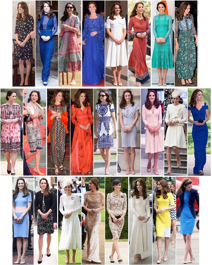 Dresses worn by Duchess Kate in 2016 so far. 18 out of these 25 are new this year Check my other posts for all her other outfits this year.