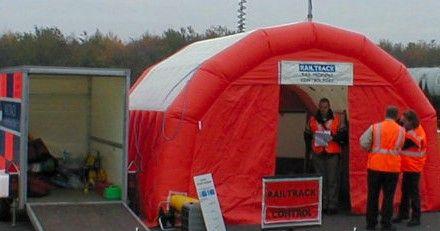 inflatable emergency response shelter - Inflatable shelter
