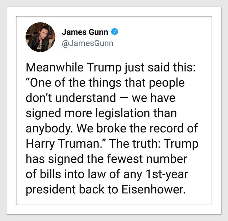 Truth matters. It also matters that Trump does not seem to know the difference between a Bill and an executive order.