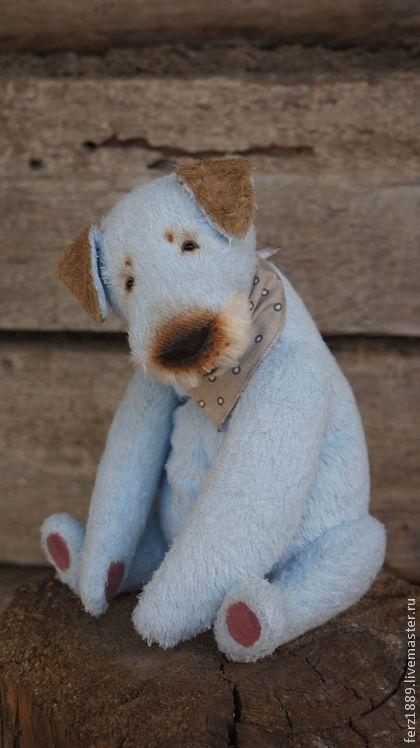 Садовый пёсик - мишки тедди,тедди,мишка тедди,кризалит,голубой,друг,друг тедди