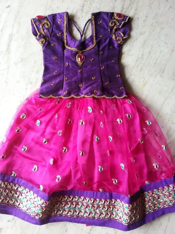 Sparkling Fashion: kids with designer lehangas