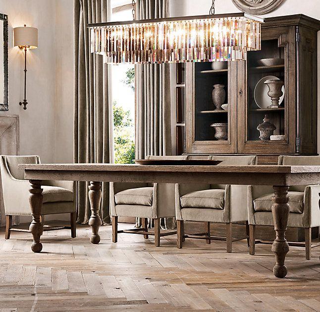 Kitchen Table Chandelier: Best 25+ Rectangular Chandelier Ideas On Pinterest