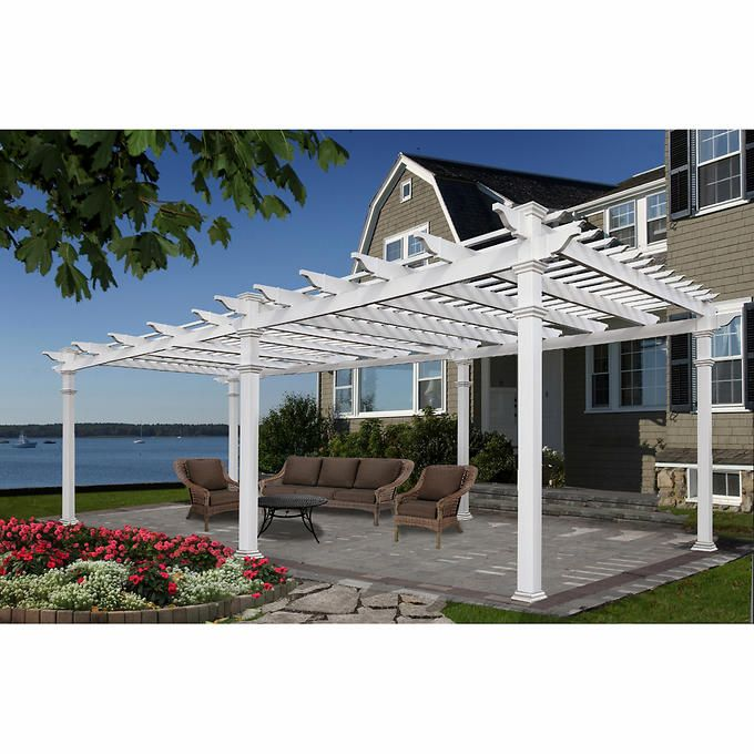 1000 ideas about vinyl pergola on pinterest pergolas - Imagenes de pergolas ...