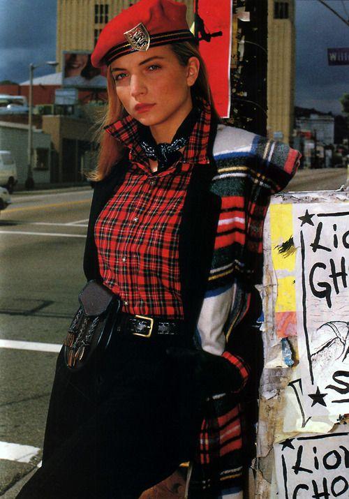 Gilles Bensimon for Elle magazine, August 1988.