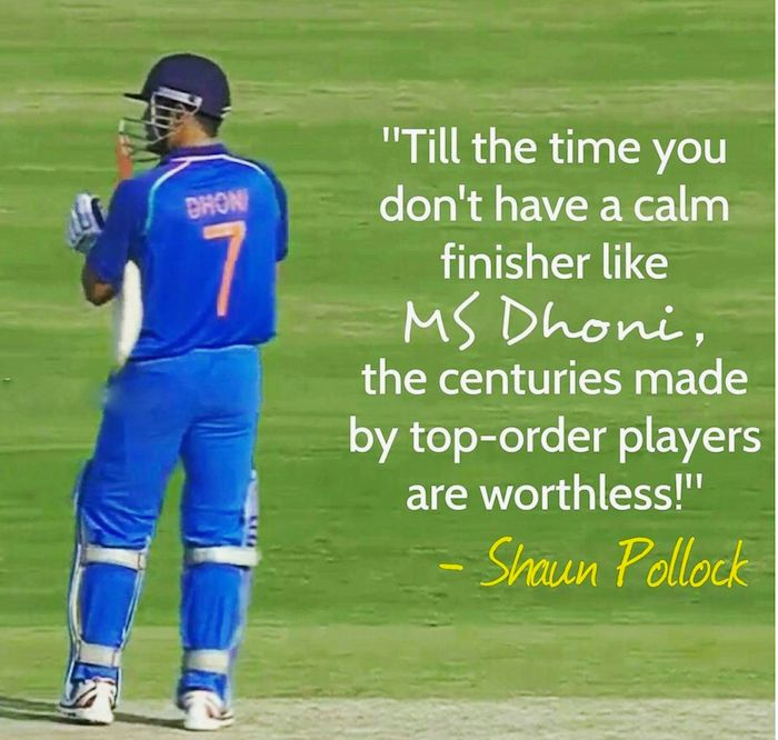 Shaun Pollock about MS Dhoni #TeamIndia For more cricket fun click: http://ift.tt/2gY9BIZ - http://ift.tt/1ZZ3e4d