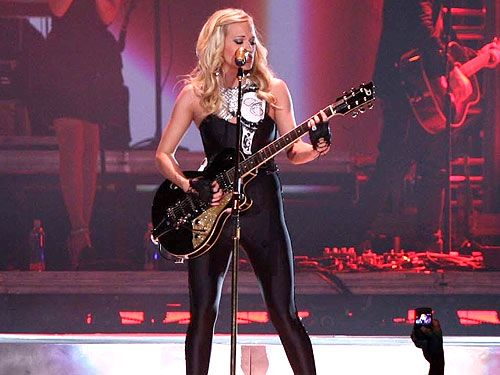/carrie-underwood love her with guitar Red Monkey Guitar Straps  www.redmonkeydesigns.com