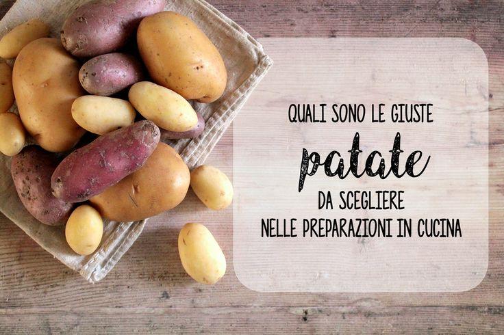 La patata è un tubero e in natura ne esistono numerose varietà. Queste variano per consistenza percentuale di acqua e di amido sapore ma anche reazione a