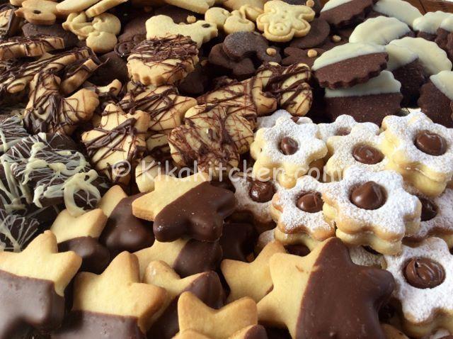 I biscotti al burro assortiti sono l'ideale come dessert, da accompagnare ad un caffè o un cappuccino. Sempre utili da tenere in biscottiera