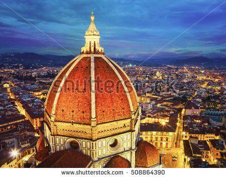 Cathedral Santa Maria del Fiore. Florence, Italy.