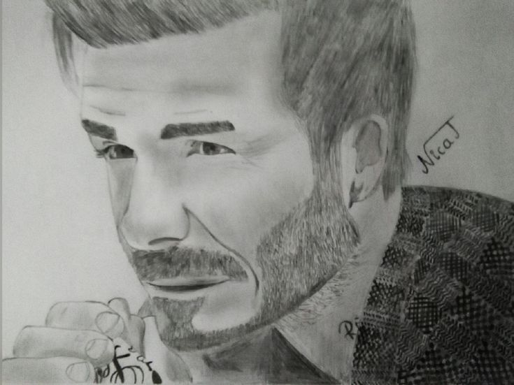 David Beckham. #davidbeckham#drawing#sketch#pencil#hair#pinterest#tumblr#art#tattoo#instagram