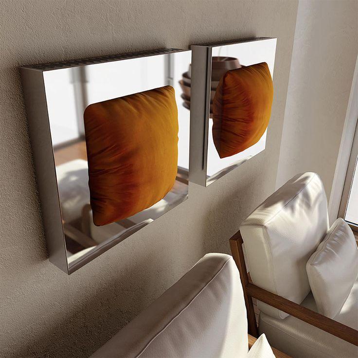 In the guest room Ad Hoc, radiator Makura