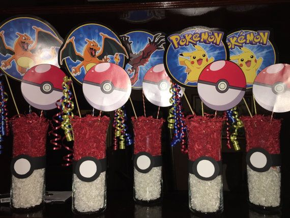 Pokemon Centerpiece By Mommysshopboutique On Etsy