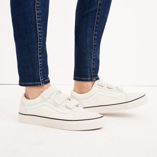 Old Unisex I'd Marshmallow Sneakers Canvas Velcro Skool In Vans® zOqwf5w