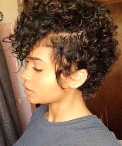 Curly Mohawk cut                                                       …                                                                                                                                                                                 More