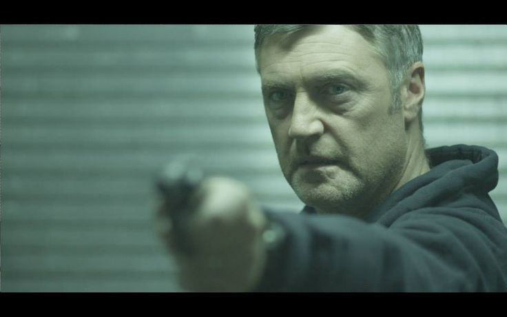 Vincent Regan filming action scene