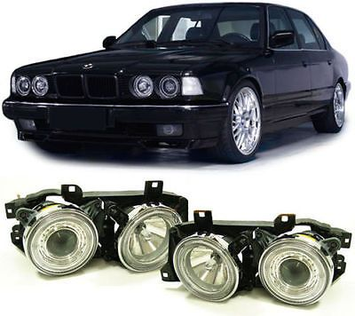 #Crystal angel eye headlights #headlamps for bmw e32 & e34 7 & 5 #series nice gif,  View more on the LINK: 	http://www.zeppy.io/product/gb/2/272179099062/
