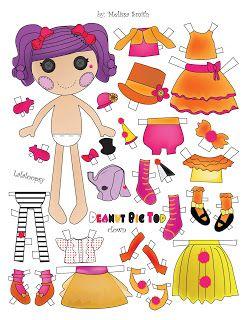 Miss Missy Paper Dolls: Lalaloopsy Paper Dolls