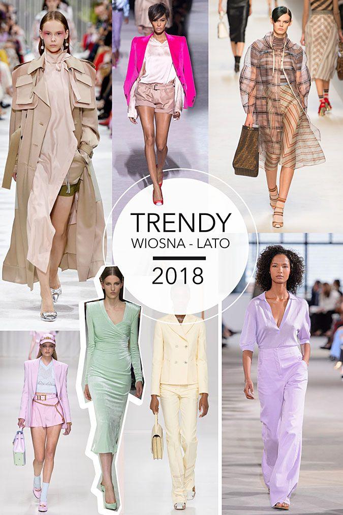 f05ff24329 Trendy wiosna-lato 2018. Co będzie modne 2018  trencz