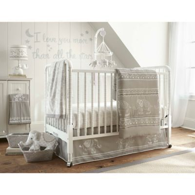 Levtex Baby Baby Ely 5-Piece Crib Bedding Set In Grey baby bedding - plan maison 5 pieces