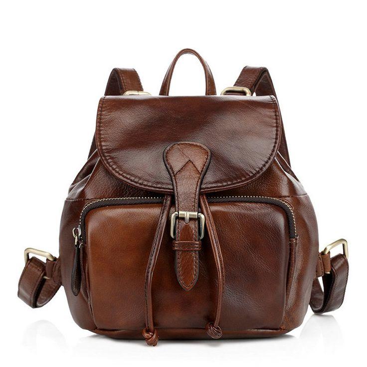 Bolsa de viaje retro barato mochilas de piel pequeña para chicas [VL10440] - €72.84 : bzbolsos.com, comprar bolsos online