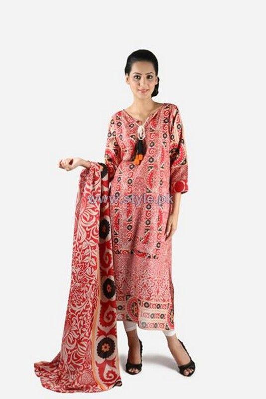 Khaadi Pret Wear Dresses 2014 For Summer