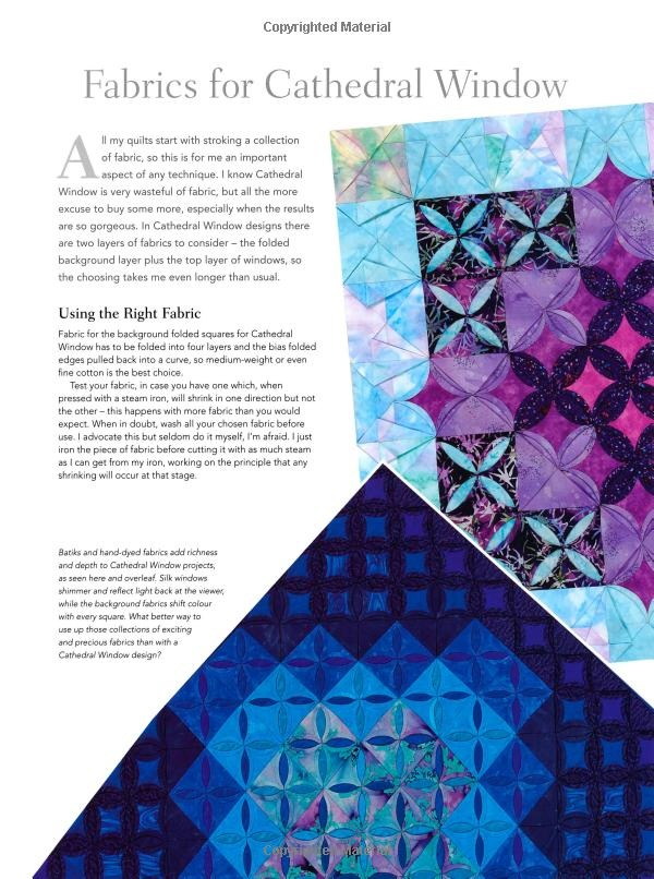 Cathedral Window Quilts Lynne Edwards Sewing