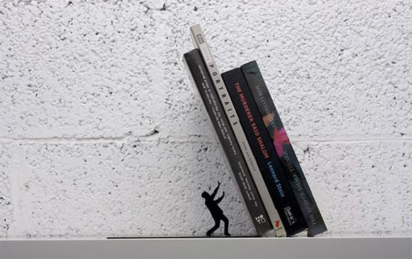 The Falling Bookends