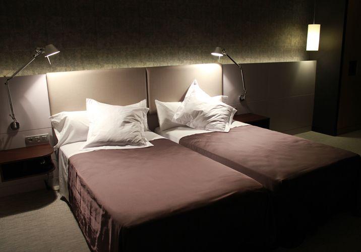 Hotel Bedroom. Hotel Urpi. Sabadell