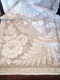 . . . Cabin & Cottage : Lacy White Vintage Linens