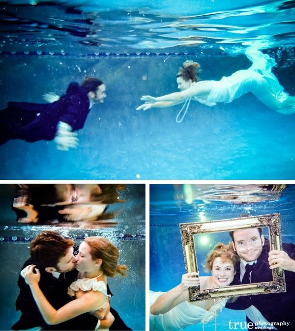 underwater engagement photos - Google Search