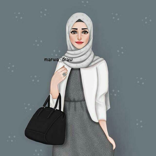 Épinglé par Rania Mouhib sur Hijab Draws en 2018