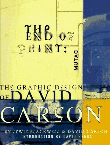 The End of Print by David Carson.