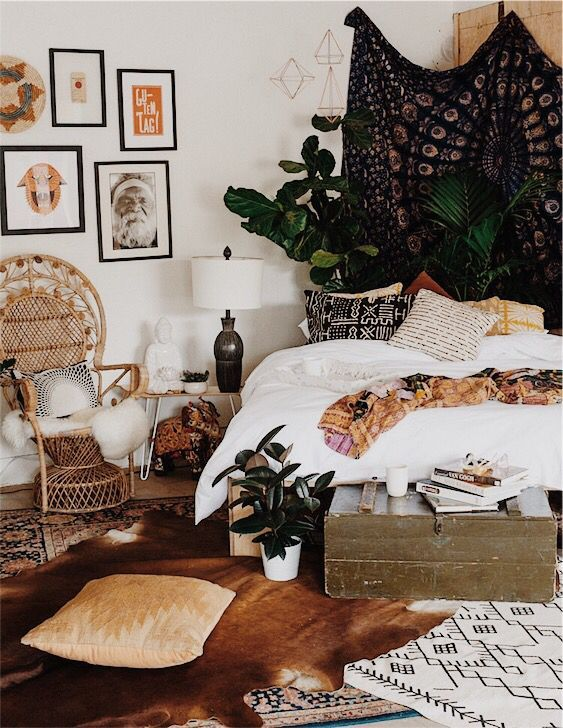 17 best ideas about tapestry bedroom on pinterest - How to decorate a bohemian bedroom ...